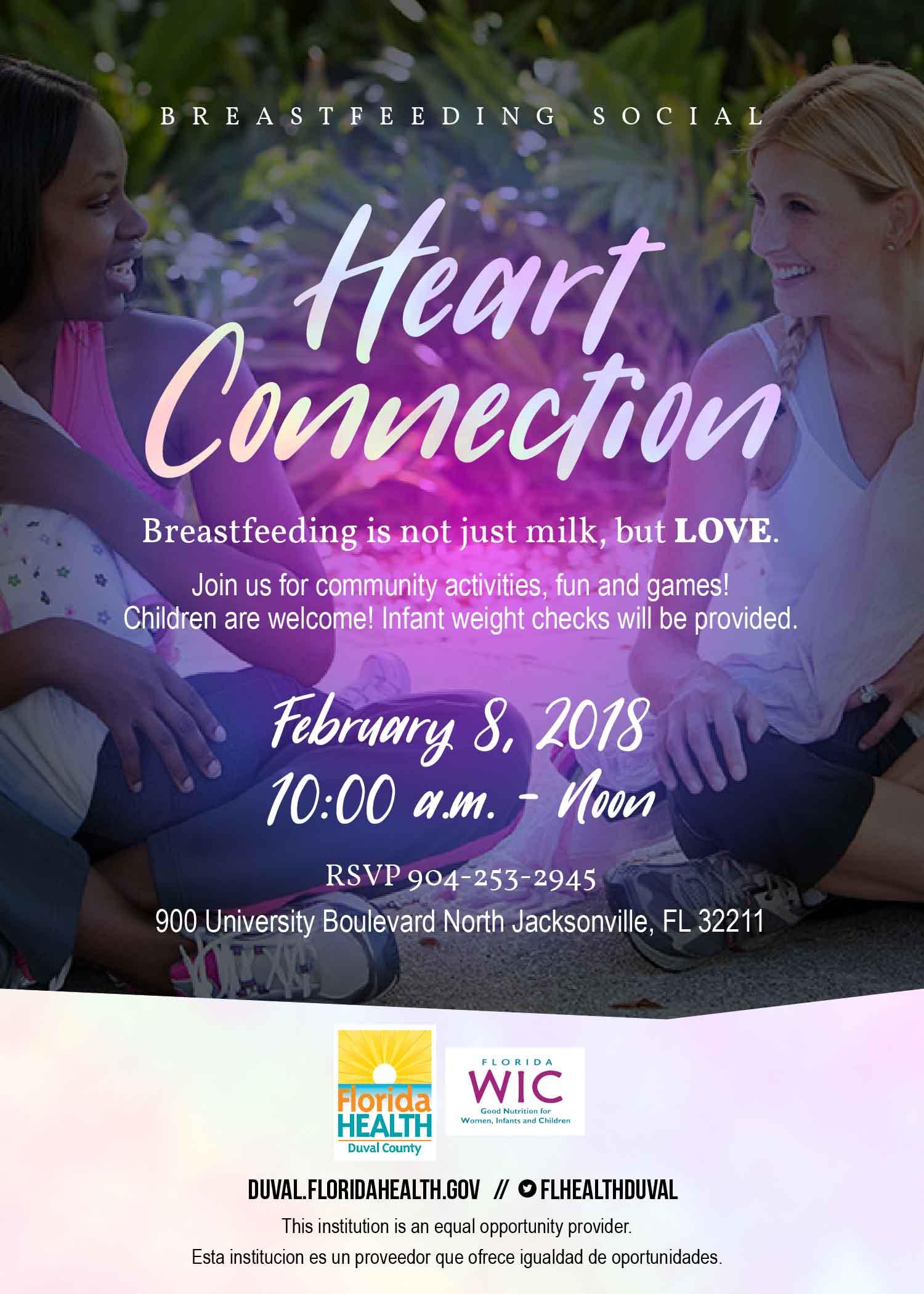 Heart connection breastfeeding social florida department of heart connection breastfeeding social february 2018 aiddatafo Images